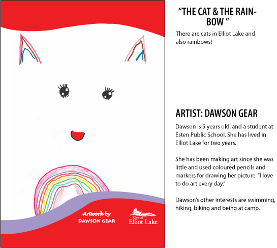 Dawson Gear The Cat and the Rainbow