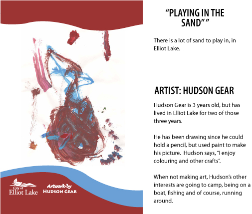 "Hudson Gear ""Playing in the Sand"""