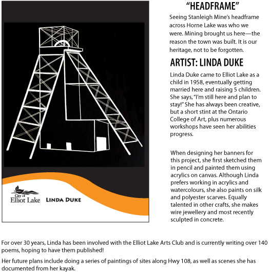 Linda Duke Headframe