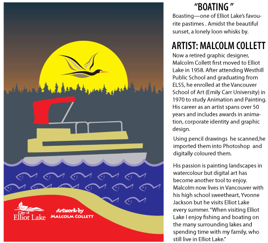 Malcolm Collett Boating