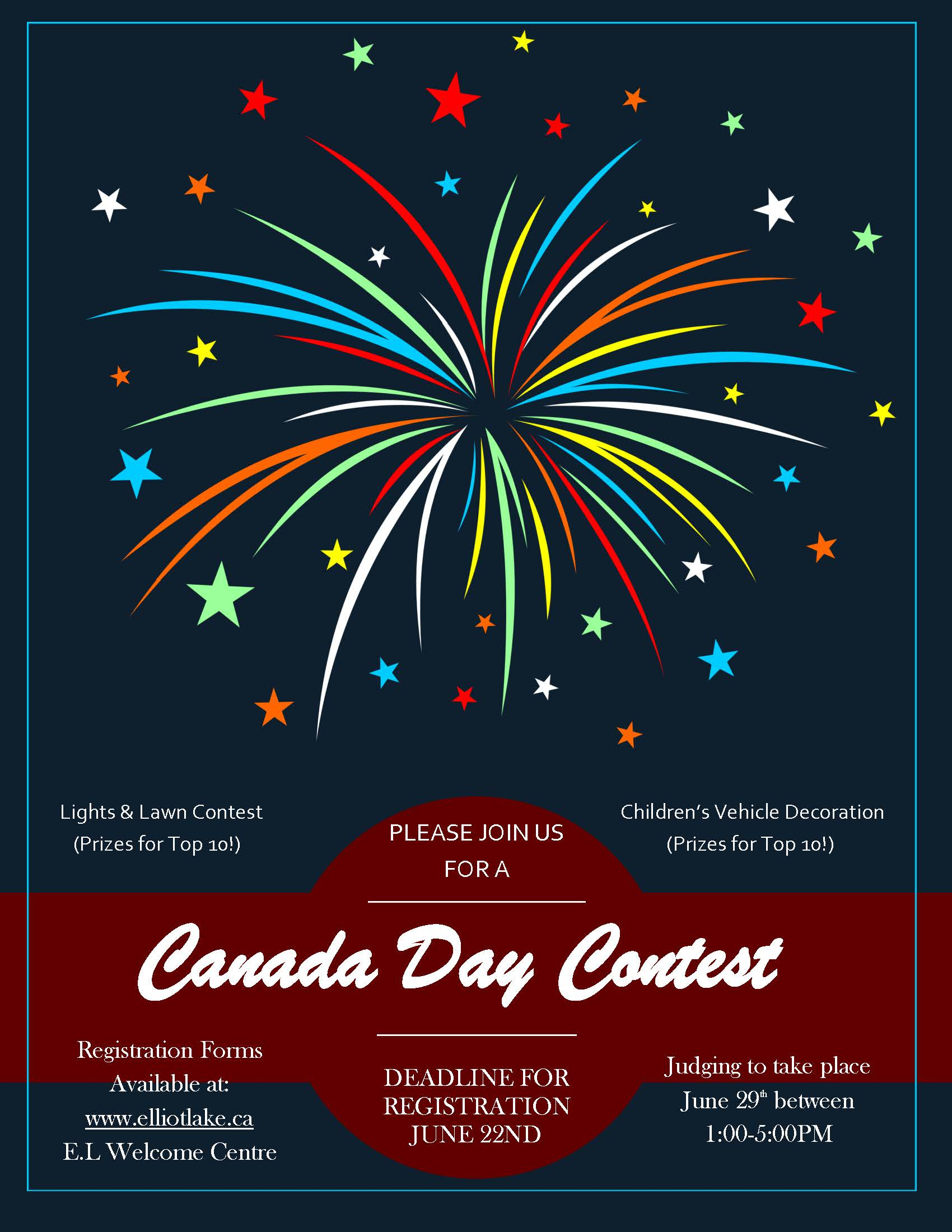 Canada Day Contest Flyer
