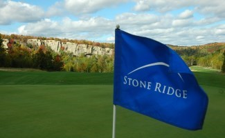 Stone Ridge Golf Course flag